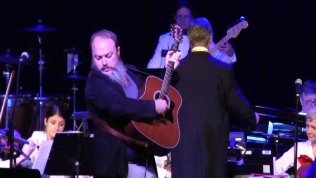 John Driskell Hopkins with the Atlanta Pops Orchestra